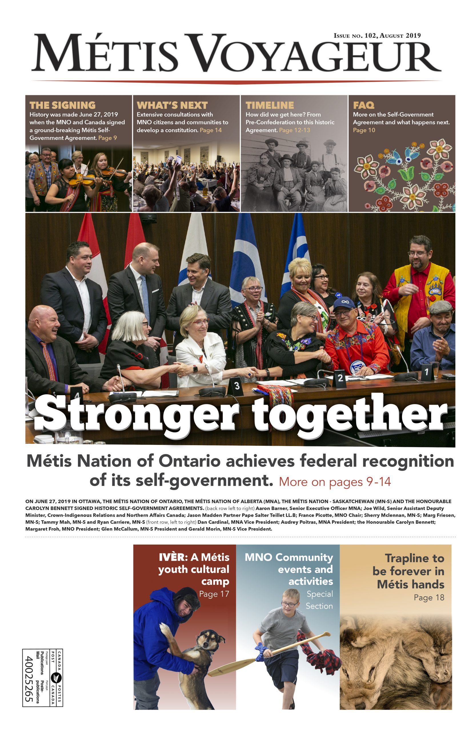 Metis Voyager Issue no. 102