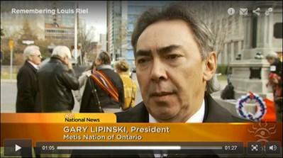Gary Lipinski on APTN