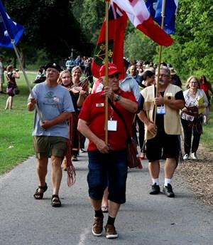 AGA procession