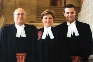 MNC President Clem Chartier, Jean Teillet and Jason Madden