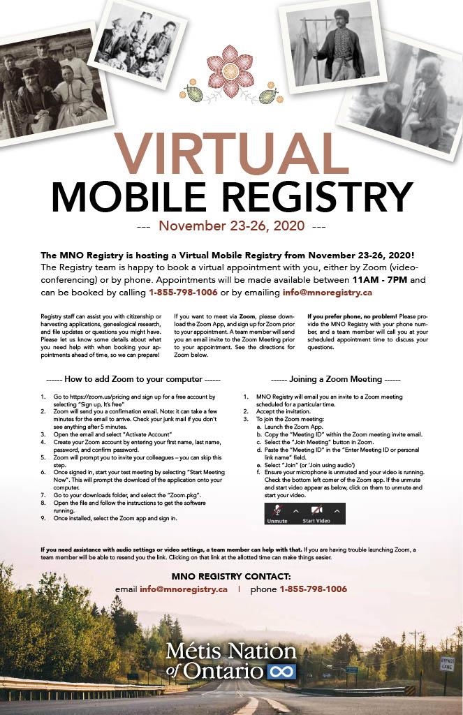 Virtual Mobile Registry Poster
