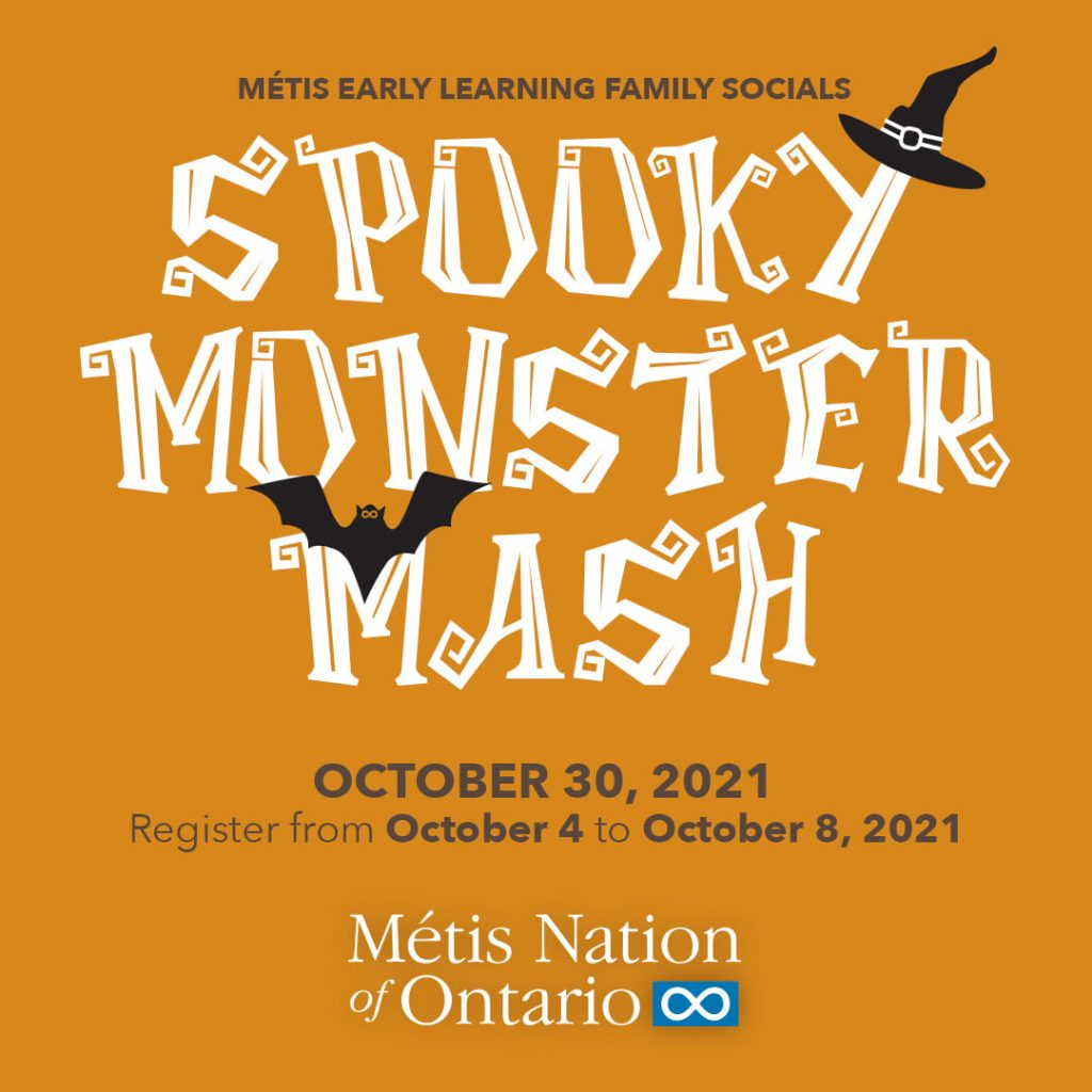 Poster for the spooky monster mash